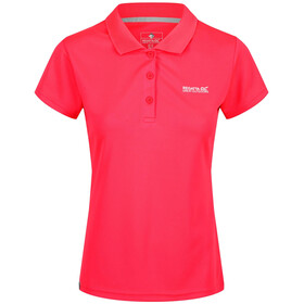 Regatta Maverick IV SS Shirt Women Neon Pink